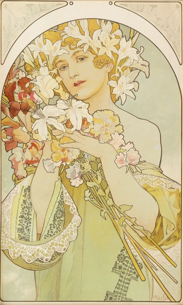 Pin By Kimberly Reyes On Art In 2019 Art Nouveau Mucha Alphonse