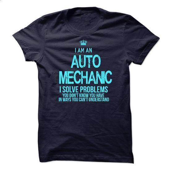 I am an Auto Mechanic - #printed shirts #champion sweatshirt. SIMILAR ITEMS => https://www.sunfrog.com/LifeStyle/I-am-an-Auto-Mechanic-17209740-Guys.html?60505