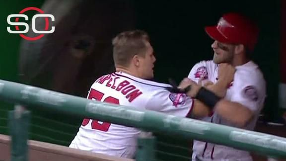 Nats suspend Jonathan Papelbon for fight with Bryce Harper