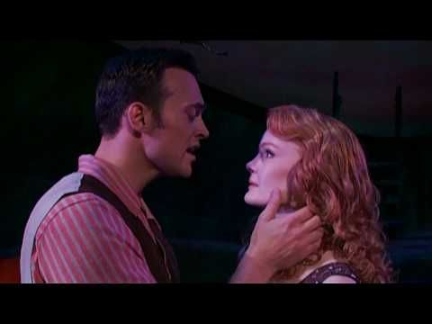 "For the lovers of Broadway. Cheyenne Jackson and Kate Baldwin in FINIANS RAINBOW, performing ""Old Devil Moon!"""