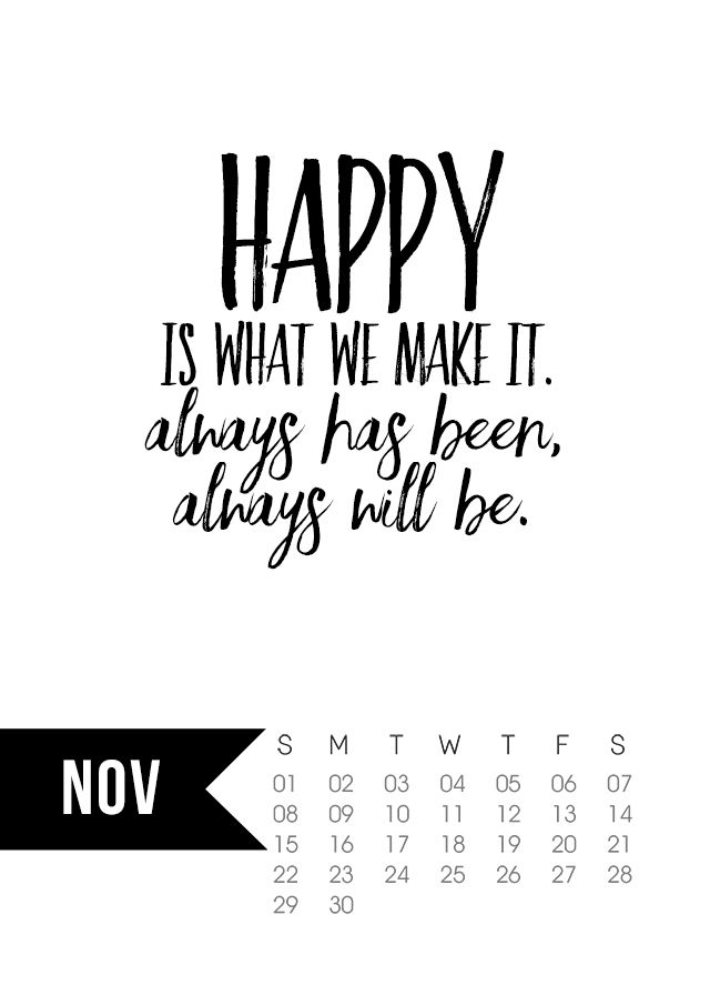 Happy With Printables Calendar November : Best november printable calendar ideas on pinterest