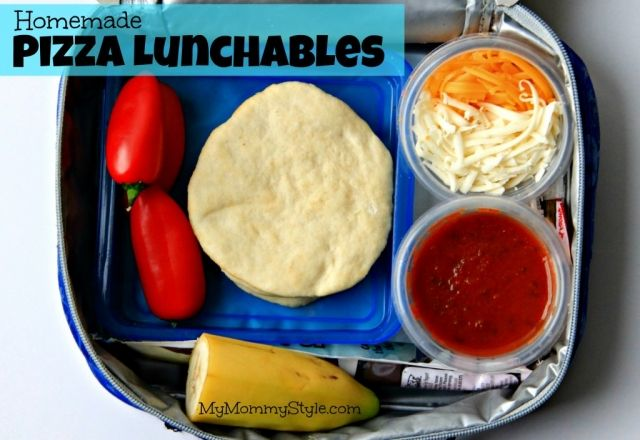 homemade pizza lunchables, lunch box ideas, school lunch, cold lunch, whats for lunch, healthy lunch box,