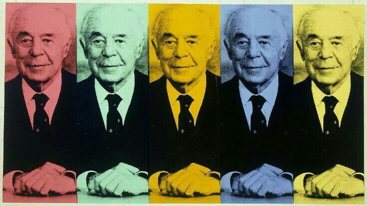 Andy Warhol ( Artist ),  Portrait of  Seymour H.Knox , 1985