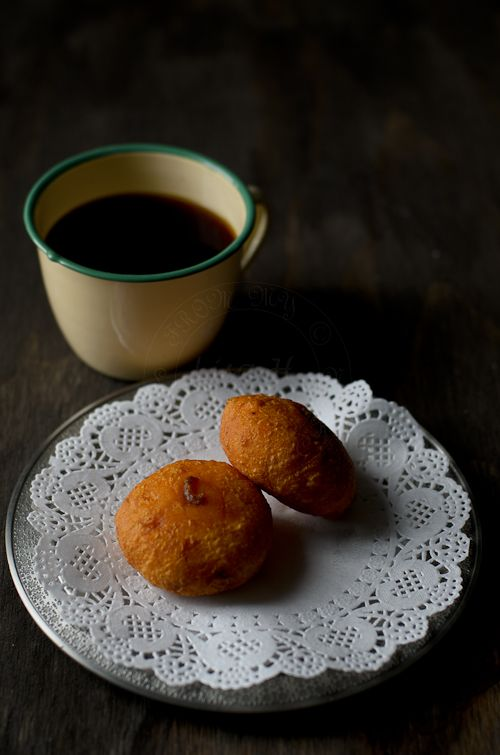 Cucur Badak/ sweet potato with spicy coconut filling | From My Lemony Kitchen ....