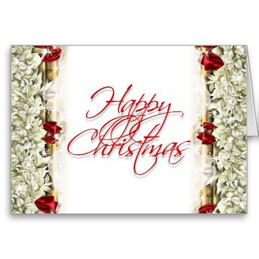 Elegant christmas greeting message blank greeting cards for Elegant christmas card messages