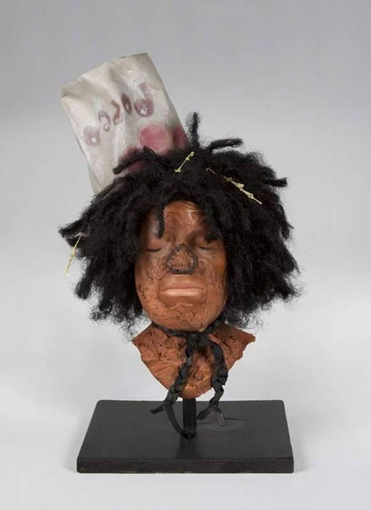 Michael Jackson 'Scarecrow' Makeup Model from The Wiz ...