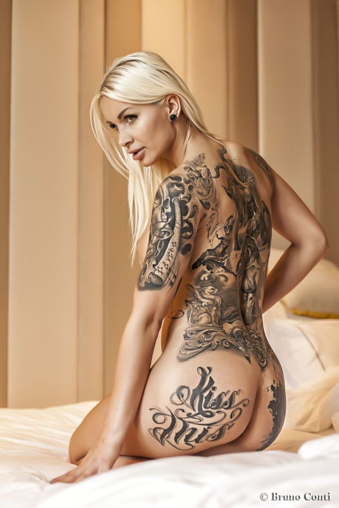 Nudes with anal tatoos #11