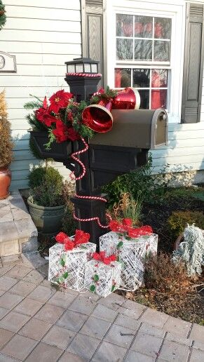 Mailbox decor & 120 best diy mailbox decor images on Pinterest | Diy mailbox ...