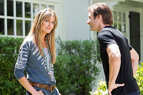 Karen from Californication ~ i love her style. modern boho