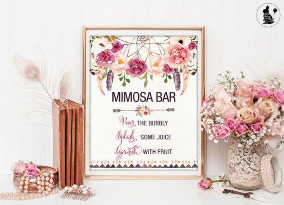 1000  ideas about mimosa bar sign on pinterest