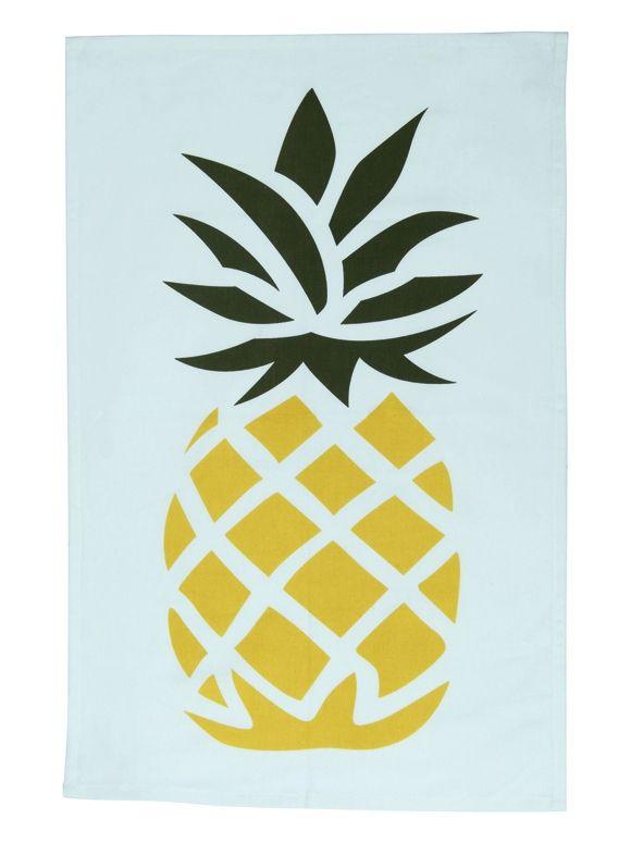 ananas formes géométriques Pineapple