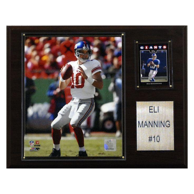 NFL 12 x 15 in. Eli Manning New York Giants Player Plaque - 1215EMANN
