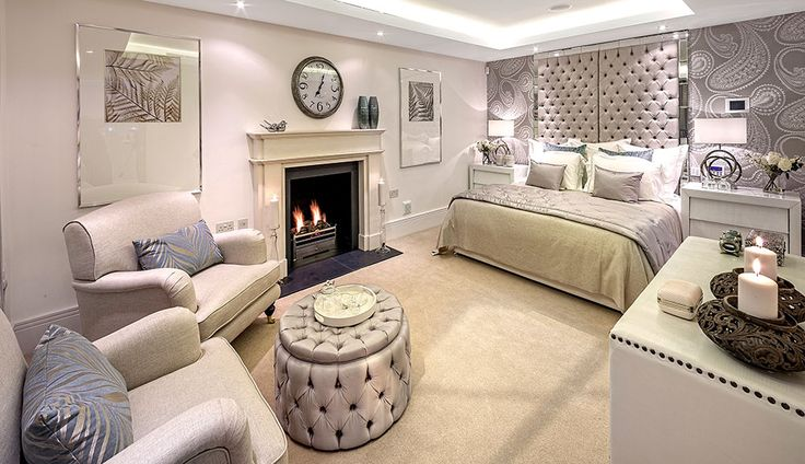 2910 best home dec images on pinterest ceiling design for Boudoir bedroom designs
