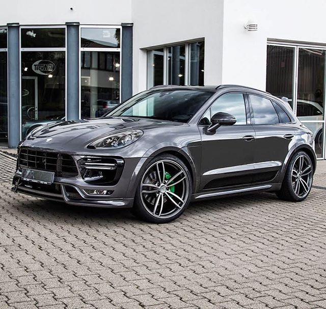"Porsche Macan Turbo - Techart Wide Body featuring 22"" Wheels"