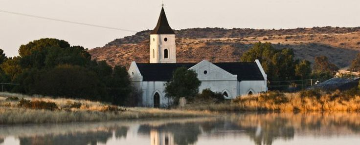A church in Philippolis, southern Free State, South Africa. © Chris Marais
