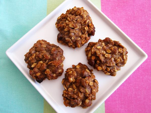 Healthy Breakfast Cookies | Vegangela