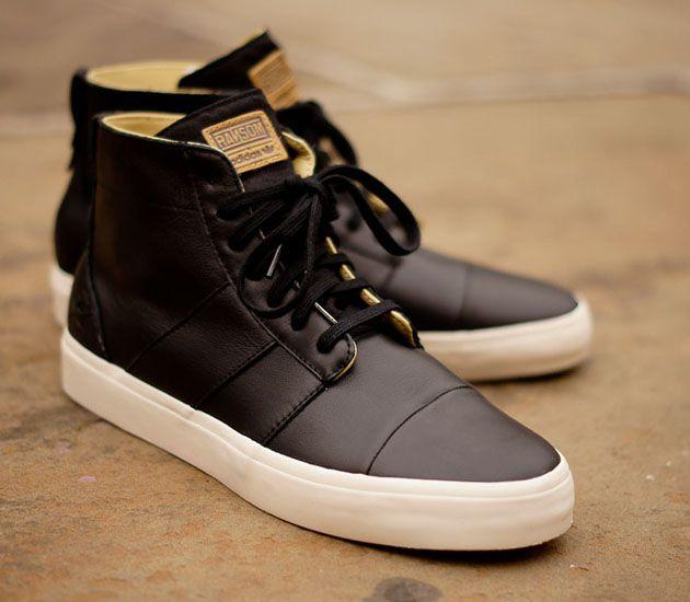 Ransom by adidas Army Mid-Black Leather