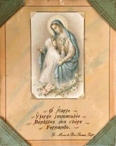 Antiquité 15 juin 1938. Collection. Art religieux. Marie