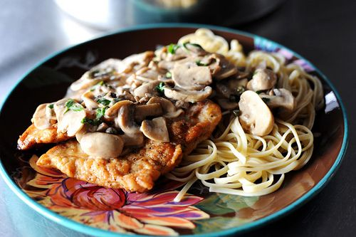 Chicken Scallopine- awesome recipe.  Make it for dinner a couple times a month. Family loves it!