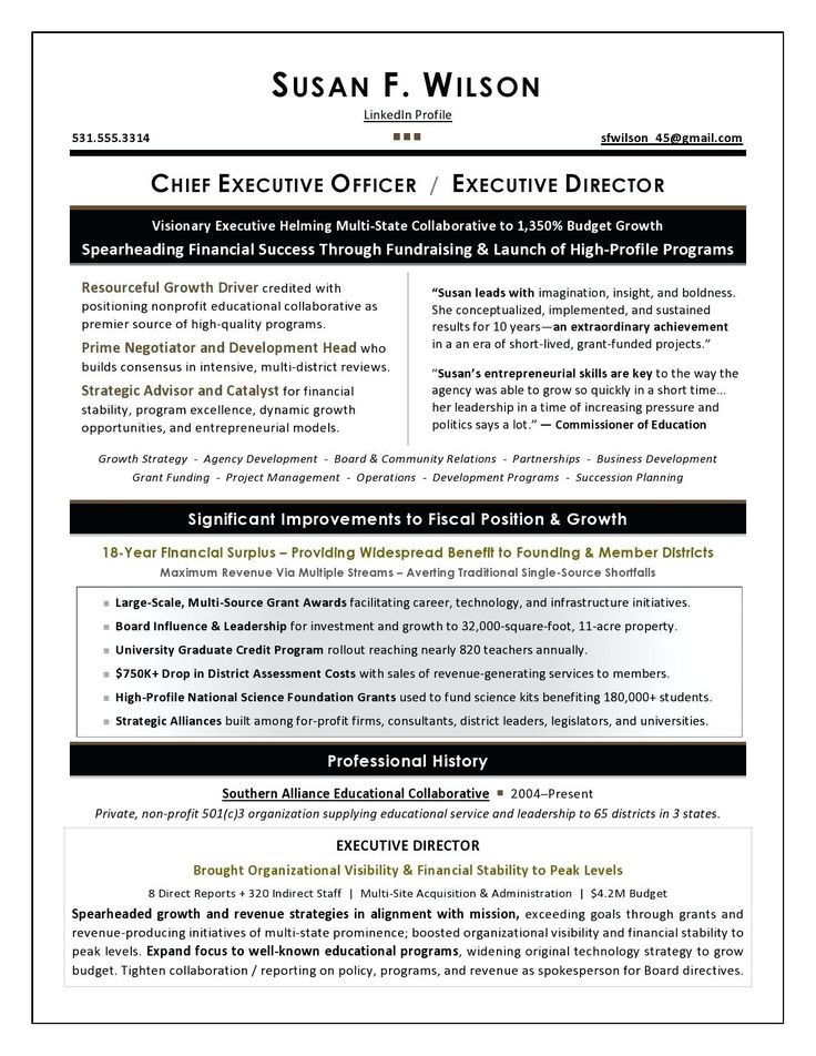 Chief Operating Officer Resume Fresh Resume Resume Profile