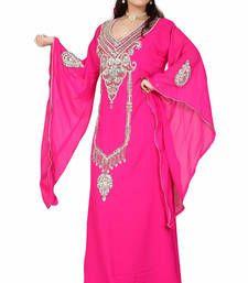 Buy pink kaftan islamic dress  Reaymade Abaya online