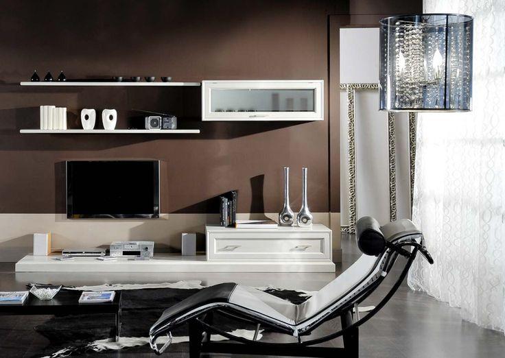 Composizione Corallo, parete minimalista su misura......