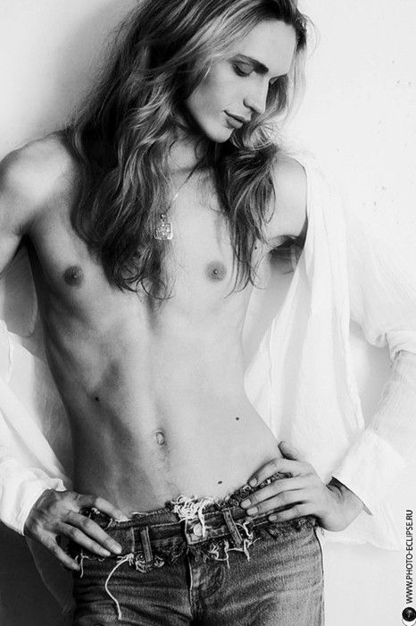 Danila Kovalev - male model, androgyny