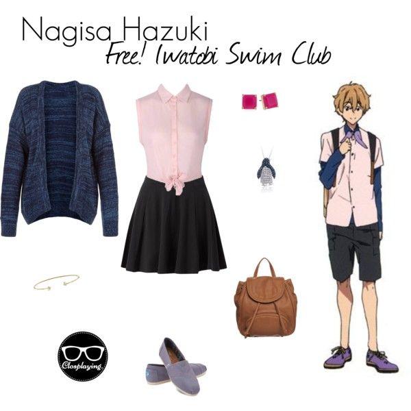 """Nagisa Hazuki Closplay - Free! I watobi Swim Club / Eternal Summer"" by closplaying on Polyvore"