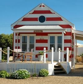 Middleton beach hut