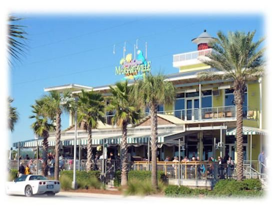 PANAMA CITY BEACH, FL -- Margaritaville restaurant at Pier Park