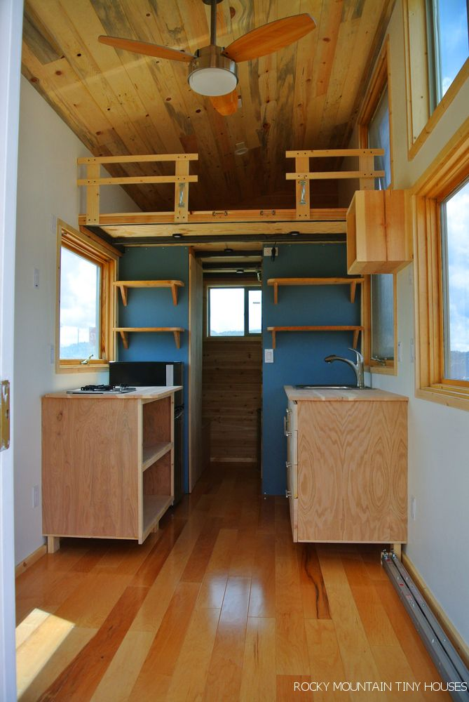 Beautiful tiny house built with #sips and #reclaimed materials. I like.