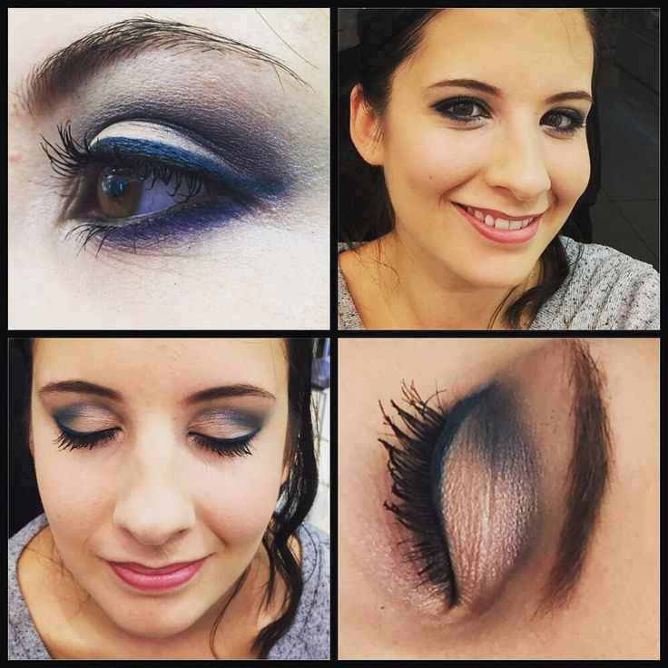 Gorgeous look created with mono shadows and kajal liner no.3