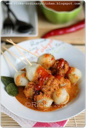 Cilok/ Just My Ordinary Kitchen...: Jajanan Pasar