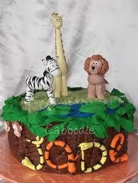 Inspiration for a Zoo Cake, Novelty Cakes. www.sweetsecretsdubai.com