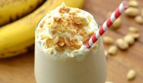 Milkshake de banana.