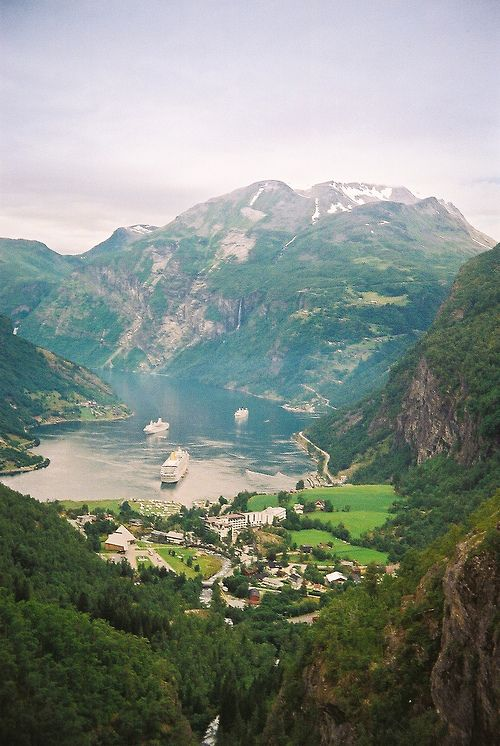Geiranger Fjord, Norway by TMurberg (Posted on Tumblr).