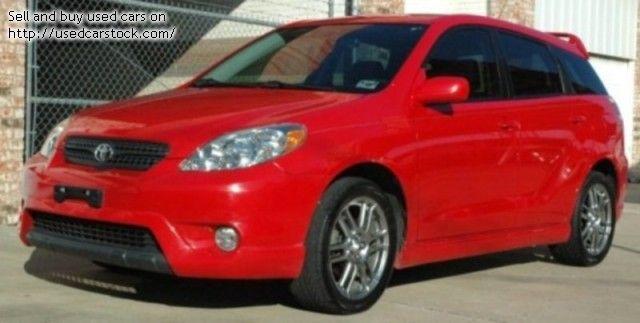2005 Toyota Matrix XRS - $8,950 | Dallas, TX | 2005 Toyota Matrix ...
