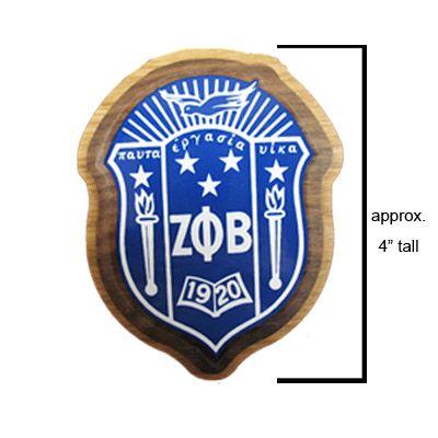 Zeta Phi Beta Sorority Crest $6.26