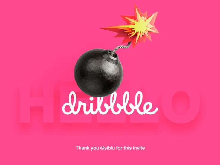 Hello Dribble by Ostrovsky Dmitry #Design Popular #Dribbble #shots