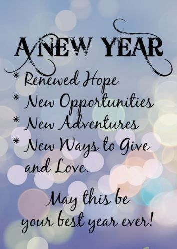 new year sayings thoughts 2018 let this new year be the one where all your dreams come alive so with a delightful heart put a start to this year anew