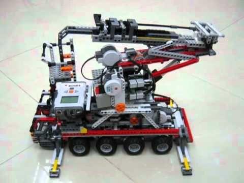 LEGO NXT Platform Vehicle - YouTube                                                                                                                                                                                 Mais