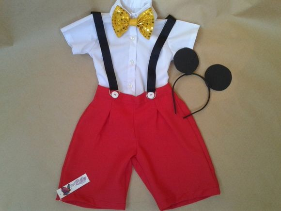 Fantasia Mickey verão 2 R$ 135,00