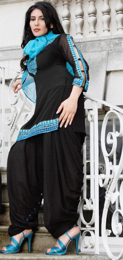 Patiala salwar with nice detail