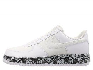 designer fashion 7166c 9f5bb Nike Air Force 1 Low Floral White Mens Casual Shoes Sneakers 820266-100  Mens Womens Sneakers