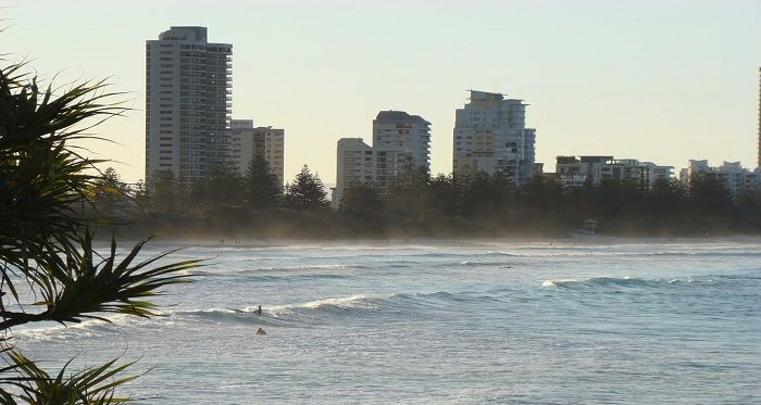 Geographically, Burleigh Heads sits in between of Surfers Paradise to the north and Coolanagatta to the south. Burleigh Heads is the renowned place to swim and surf. Swim between the flags where the life savers keep watch or surf around the Burleigh headland.