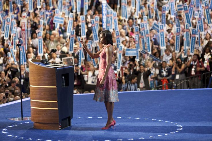 Democratic National Convention, September 4, 2012 Parsons Alumni Tracy Reese, BFA Fashion Design '84, had a career defining moment when The First Lady wore one of her pieces in the opening night of the Democratic National Convention in 2012. The dress was bold and modern, emphasizing the best of Mrs. Obama's sartorial choices.
