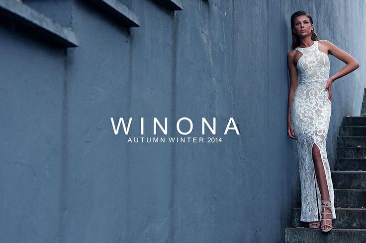WINONA AUSTRALIA - Bridal, cutting of the cake dress   www.winonaaustralia.com