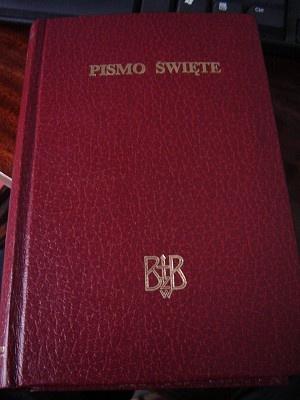 Biblia to jest Pismo Swiete Starego I Nowego Testamentu Z Apokryfami / Nowy Przeklad / Polish Catholic Bible with Apochrifa / 067 Printed in Poland