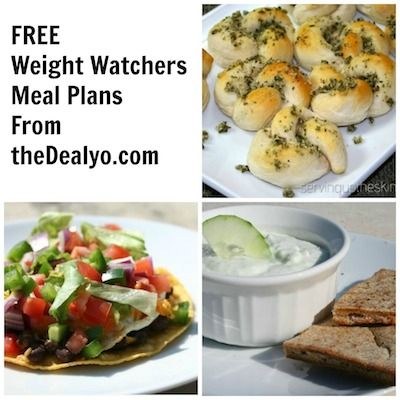 Weight Watchers Menu Plan - February 23rd - thedealyo.com