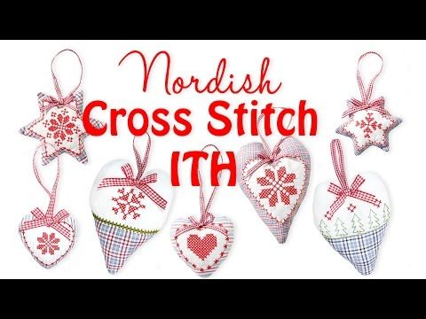 Anleitung: Nordish Cross Stitch ITH - YouTube